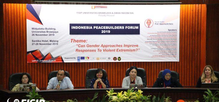 FISIP UB dan AMAN Indonesia Inisiasi Forum Perdamaian Skala Internasional
