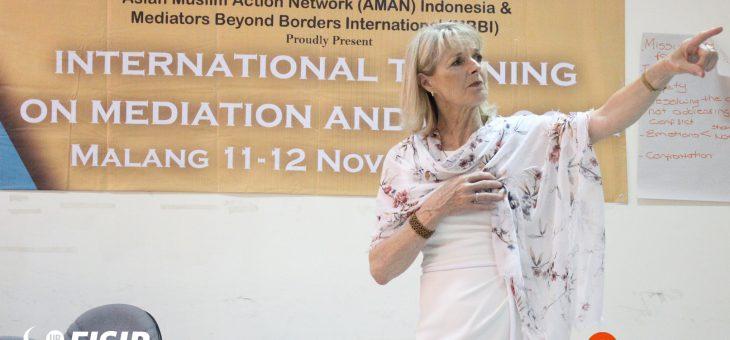 International Training dan Kuliah Tamu tentang Mediation and Dialogue